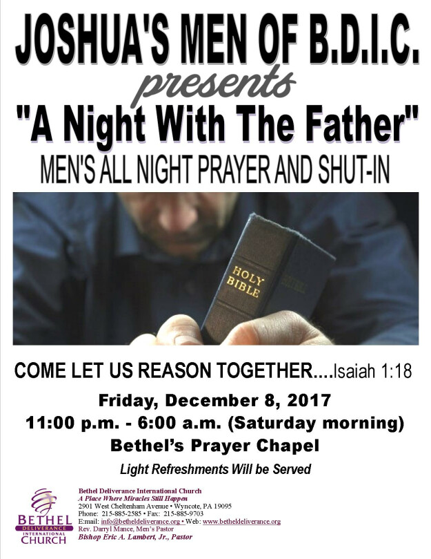 """""""A Night With The Father"""" Men"""