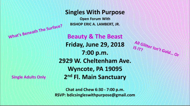 Singles With Purpose Gathering