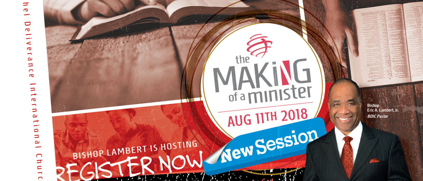 Making of a Minister Mentoring and Training  - Aug 11 2018 10:00 AM