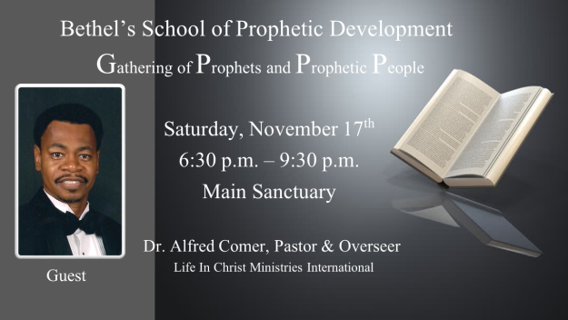 Gathering of Prophets and Prophetic People