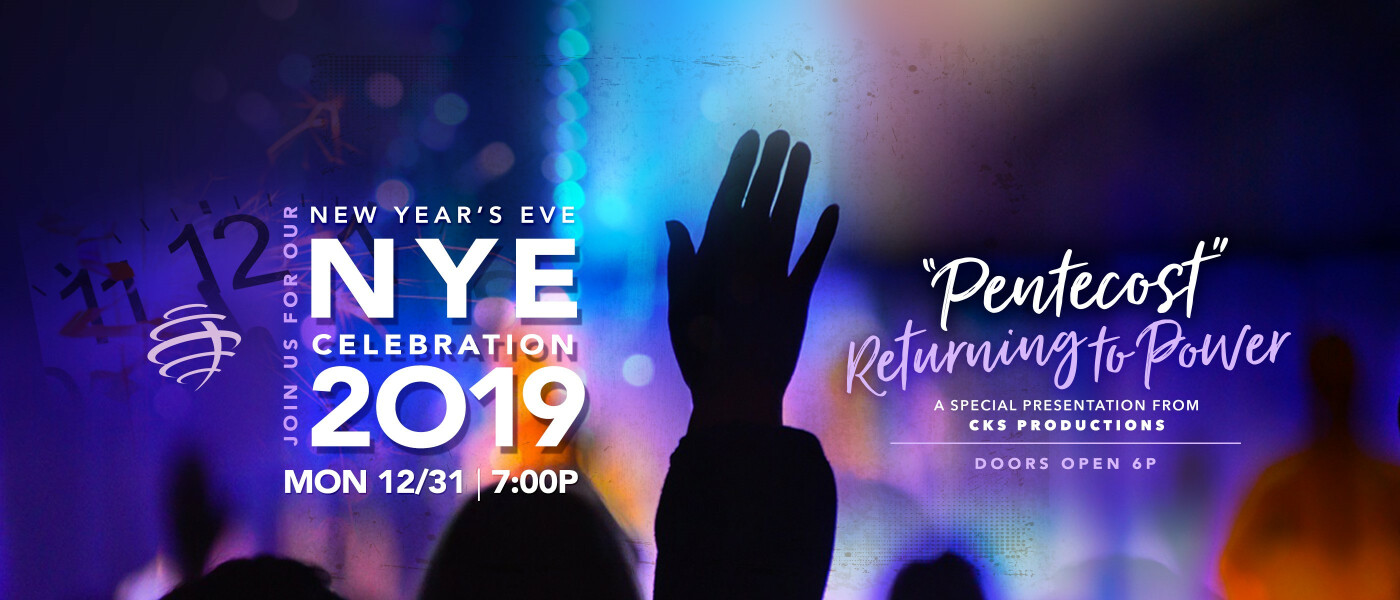 New Year's Eve Service - Dec 31 2018 7:00 PM