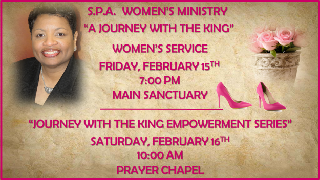 "S.P.A. Ministry ""A Journey With the King"" Women"