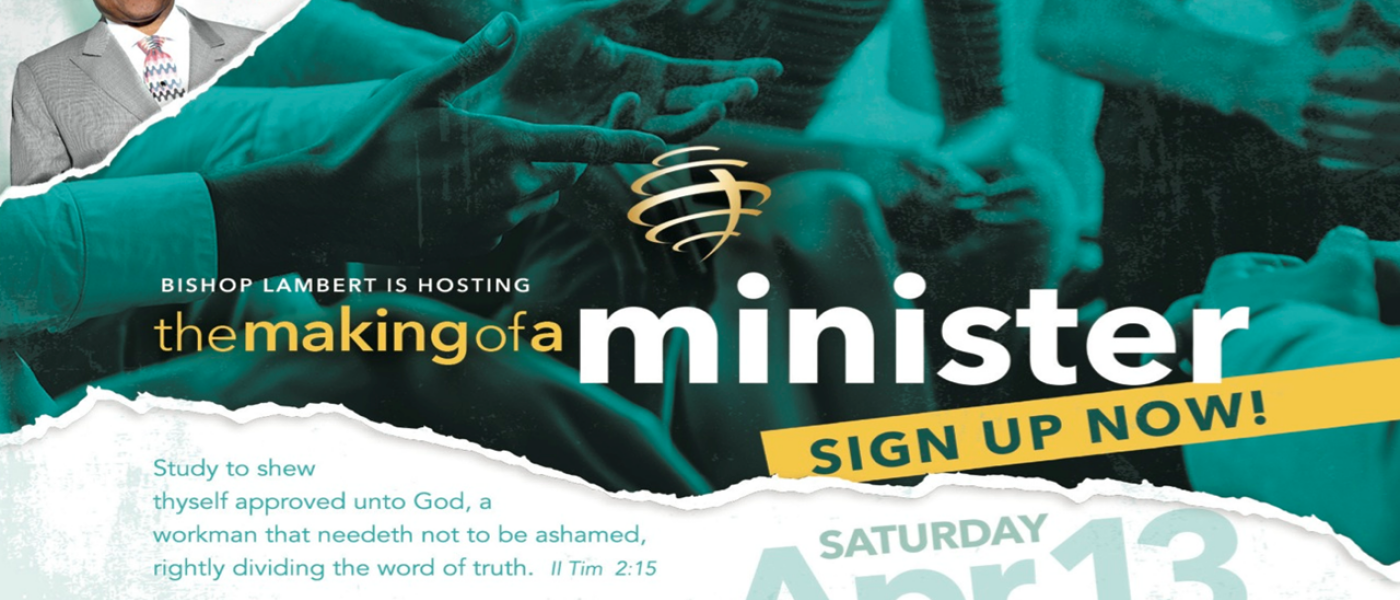 Making of a Minister Mentoring and Training  - Apr 13 2019 10:00 AM