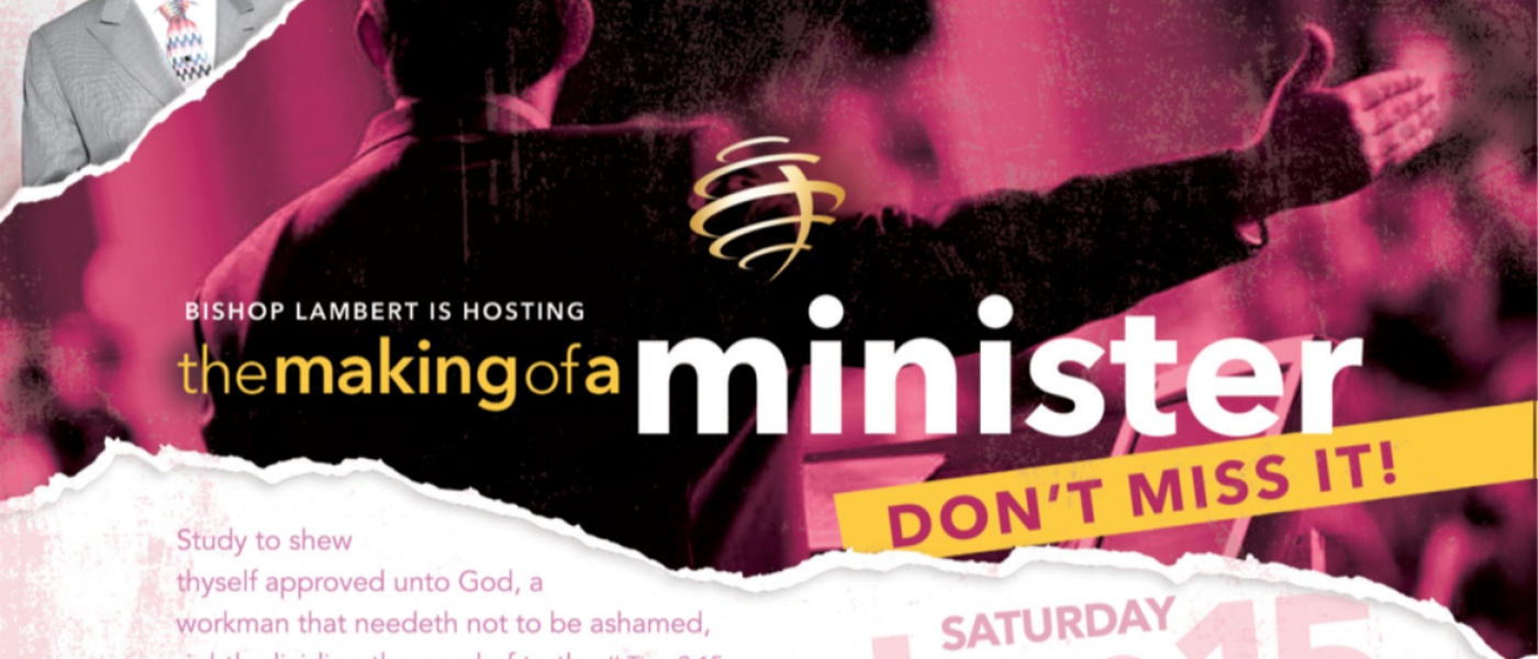 The Making of a Minister Mentoring & Training - Jun 15 2019 10:00 AM