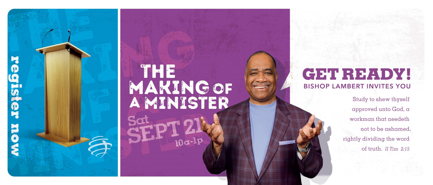 The Making of a Minister - Sep 21 2019 10:00 AM