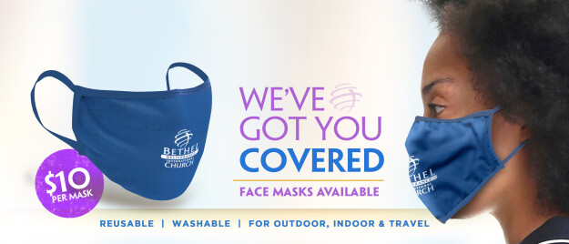 Bethel Deliverance International Church Signature Masks Sale